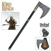 United Cutlery The Lord Of The Rings Gimli Bearded Axe