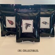 Nfl Team Packs 2 Hits Auto/patch 20 Cards