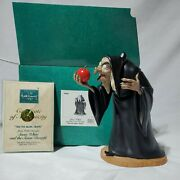 Wdcc 1995 Event Snow White And The Seven Dwarfand039s Witch Hag Take The Apple Dearie