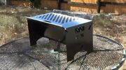 Fold Away Bbq Pit Great For A Gift. Folds To Less Then An Inch Take Anywhere