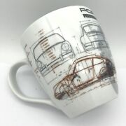 Porsche Coffee Cup Mug Legends Of 1963 Limited Edition 901 911 Collection 356