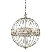 Acclaim Lighting In11106as Aria - Six Light Pendant In Antique Style - 20 Inches