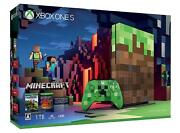 Microsoft Xbox One Console System S 1tb Minecraft Limited Edition