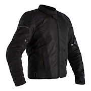 Rst F-lite Airbag Ce Mens Textile Motorcycle Jacket Ce Approved Black 2565