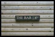 The Bar Home Bar Vintage Style Signs Antique Man Cave Beer Home Brew
