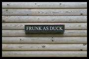Frunk As Duck Home Bar Vintage Style Signs Antique Man Cave Beer Home Brew