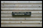 I Only Drink Home Bar Vintage Style Signs Antique Man Cave Beer Home Brew