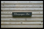 Champagne Bar Home Bar Vintage Style Signs Old Antique Man Cave Beer Home Brew