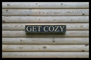 Get Cozy Home Bar Vintage Style Signs Antique Man Cave Beer Home Brew