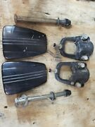 1987 Mercury 35hp Outboard Boat Motor Mid-section Mounting Bolts And Brackets