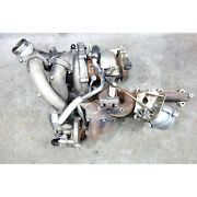 2009-2011 Bmw E90 335d M57n2 Diesel Factory Twin Turbo Charger Assembly Oem