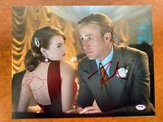 Ryan Gosling And Emma Stone Signed Gangster Squad 11x14 Autograph Photo - Psa