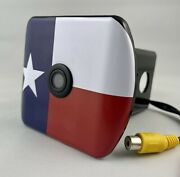 Hitch Backup Camera Texas Flag Hummer H2 H3 Truck Jeep Wrangler Gm Ford F150 Ram