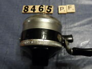 T8465 Pf Zebco 33 Spinner Fishing Reel Metal Foot Made In Usa