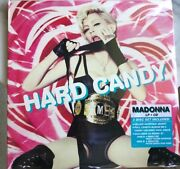 Madonna Hard Candy Color Vinyl + Single + Cd Collectorand039s 1st Ed. 2008 Brand New