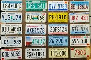 Large Lot Of 100 Old License Plates - Bulk, Many States - Low Shipping In Us