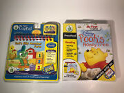 Disney Winnie The Pooh Honey Tree My First Leappad And Tad's Silly Number Farm Lot