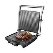 Electric Portable Press Grill Steakmaster Redmond Rgm-m800 2 In 1 Grill And Oven