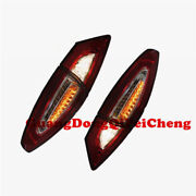 Full Set 3d L.e.d Tail Lights Fit Mondeo Fusion Clear Red Rear Lamps Len 2013-up