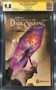 Jae Lee Signed Power Of The Dark Crystal Comic 4 Cgc 9.8 Not Cbcs