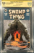 Swamp Thing Winter Special 1 Cbcs 9.8 Kelley Jones Signed Comic Cgc 2nd Print