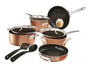 Stackable Pots And Pans Stackmaster 10 Piece Cookware With Ultra Copper Set