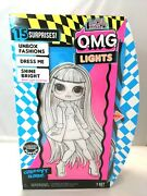 Lol Surprise Omg Lights Groovy Babe Fashion Doll With 15 Surprises New Nib