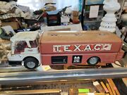 Texaco Jet Fuel Delivery Tanker Toy Truck Metal Vintage 60and039s Gas Oil