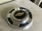 Nos Chevy Truck 1970's 1/2 Ton Vintage Dog Dish Hubcap Yellow Hot Rod Gm Sk