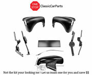 1950 Chevy Truck Hood Hinges 2 Pr Spear Fenders Front Bed Panel +