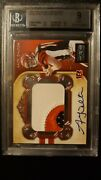 2011 National Treasures Andy Dalton Rookie Bgs 9 Ed 51/99 .5 Away From Gem