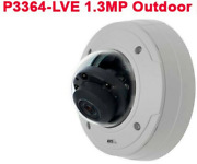 Axis - P3364-lve 6mm Superb Video In 1mp Or Hdtv 720p Quality Day Night Outdoor