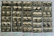 30 Keystone View Co Real Photo Stereoview Cards European Scenes