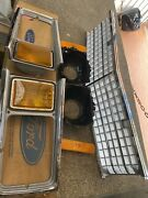 1978 1980 Ford Fairmont Nos Grille Headlights Bezels Buckets Markers