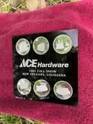 1991 Ace Hardware Jackson Square New Orleans 1991 Fall Show Silver Medals