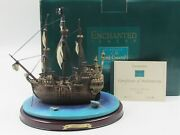 Wdcc Enchanted Places The Jolly Roger From Disney's Peter Pan W/box Coa - Read