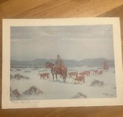 Kenneth Wyatt Signed And Numbered Limited Print
