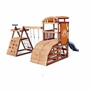 Little Tikes Real Wood Adventures Wildcat Falls Outdoor Playset With Swing Set