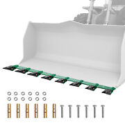 Vevor Bucket Tooth Bar 64'' Clamp-on For Tractor Loader No Drilling Required