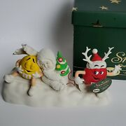 2004 Department 56 Snowbabies Mandm's A Candy Coated Christmas 56.69802 In Box