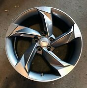 Andros R10 18 X 8 Wheels Machined With Matte Graphite Accent Set Of 4