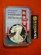 2019 S Proof Silver Eagle Ngc Pf70 Ultra Cameo Early Releases Bridge Core