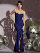 Nwt Guess By Marciano Gisele Bandage Gown Long Dress Sz L