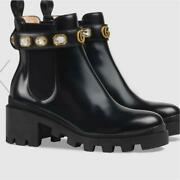 Belted Leather Boots Size Women