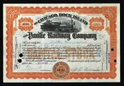 J Walter Thompson - The Advertising King - Signs A Rare 1915 Stock Certificate