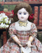 23 59cm Antique French Bisque Block Letter Bebe Doll By Rabery And Delphieu