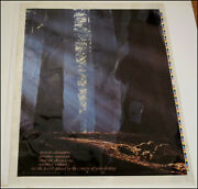 Original Color Key Proof Of The 1972 Walter Rinder Poster Jewels Celestial Arts