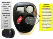 Oem Gm Keyless Clicker Remote Entry For 15732803 Opener Transmitter Control Phob