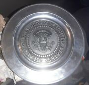 President Of United States White House Plate