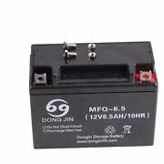 Mfq 12v 6.5ah Motorcycle Battery For Electric Atv Scooter Go Kart Buggy Carts